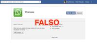 Cuidado con las aplicaciones de Whatsapp para Facebook: son todas falsas