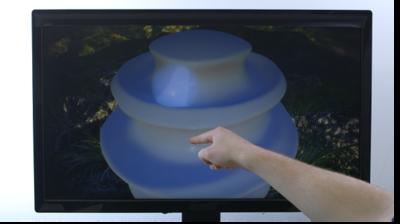 Free Form nos demuestra cómo modelar en 3D con Leap Motion