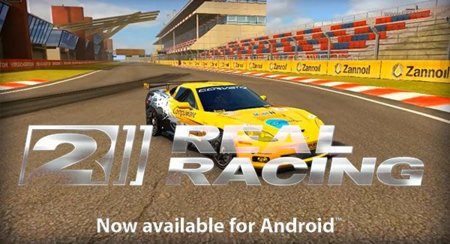 Real Racing 2 llega a Android Market