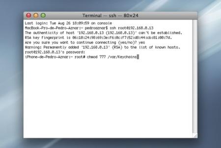 Cómo solucionar el problema de los passwords de PwnageTool 2.0.3