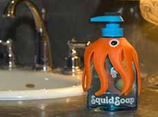 SquidSoap: una jabón que enseña a lavar las manos