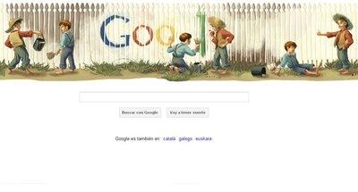 Tom Sawyer ya conocía Google