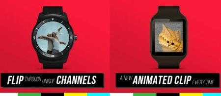 Viste tu Android Wear con GIFs animados con Little TV