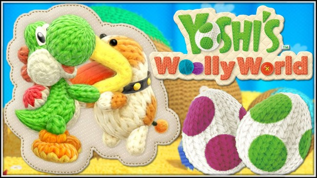 Poochy Yoshi Wooly World