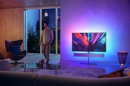 Philips presenta su tele OLED986: panel OLED 4K un 20% más brillante, sistema antiquemado y barra de sonido 3.0 de Bowers & Wilkins