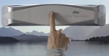 Ford crea una ventanilla que permite a las personas ciegas 'ver' el paisaje a través del tacto