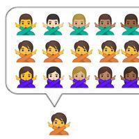 Google lanzará una tercera opción de género para emojis como el del policía o el zombi