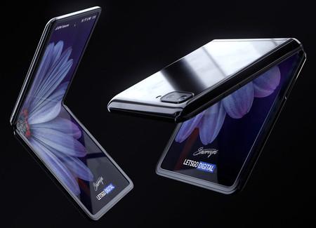 Más supuestas filtraciones del próximo smartphone plegable de Samsung, ahora conocido como 'Galaxy Z Flip'