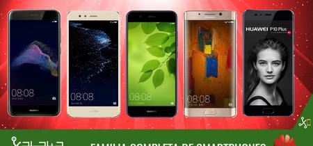 Huawei Nova 2 y Nova 2 Plus, así encajan dentro del catálogo completo de smartphones Huawei en 2017