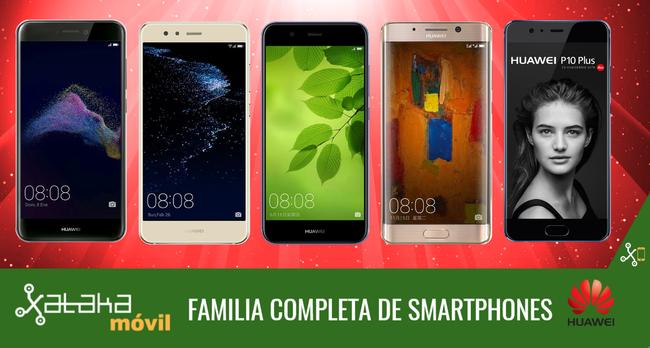 Catalogo Completo Smartphones Huawei™ Junio 2017