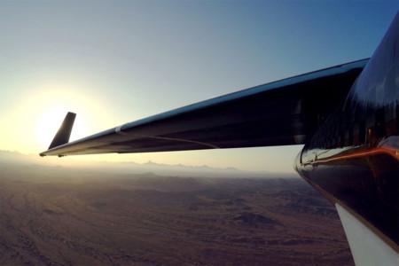 Así fue el primer vuelo largo de Aquila, el dron para llevar internet de Facebook