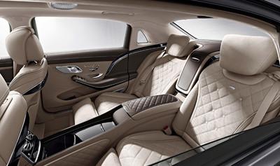 Mercedes-Maybach Clase S, primeras imágenes