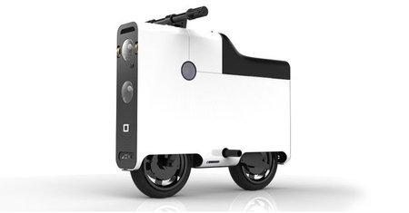 Boxx: un nuevo scooter eléctrico de diseño rompedor