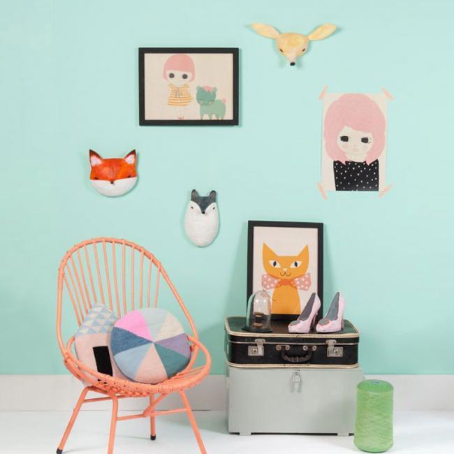 diez hermosas ideas de cmo decorar las paredes de un dormitorio infantil