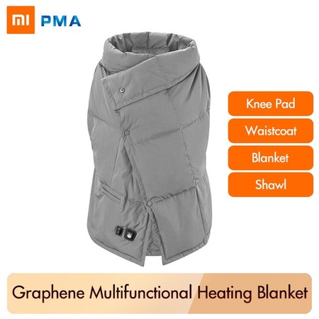 Xiaomi Pma Heating Blanket Electric Pad Shoulder Graphene Washable Waistcoat Vest Light Belt Multifunction Fast Warm Jpg 640x640