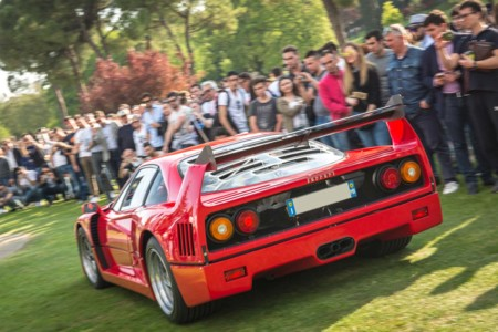 Cars and Coffee F40
