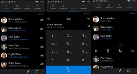 La aplicación Teléfono de Microsoft se actualiza para los dispositivos que cuenten con Windows 10 Mobile