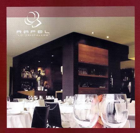 """Rafel """"Lo Cristalero"""", Restaurante Asador"""