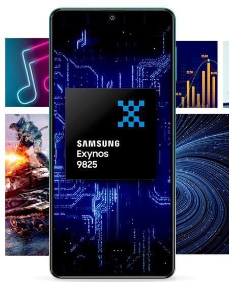 Samsung Galaxy F62 Procesador