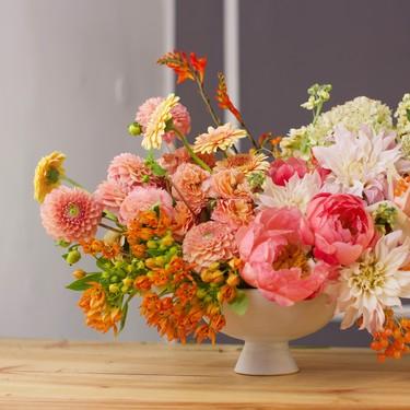 Tips para decorar con flores la mesa en ocasiones especiales y, en general, todos los días del año