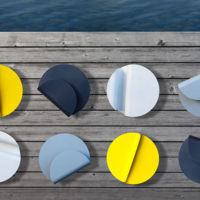 Marchando una de mesas minimalistas a todo color