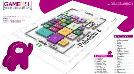 Plano del Gamefest 2010