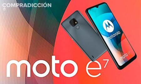 Si tu presupuesto para nuevo smartphone no llega ni a las 3 cifras, en MediaMarkt y en Amazon tienes el Moto E7 de Motorola por sólo 89 euros