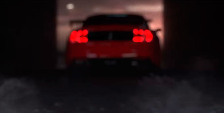 Ford Mustang Shelby GT500 2019 teaser