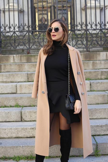 Total Look Black Ladyaddict Street Style 6