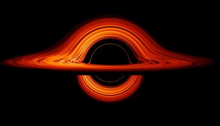 Esta espectacular simulación animada de la NASA muestra cómo los agujeros negros deforman el espacio