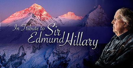 Homanaje a Edmund Hillary, en edición limitada
