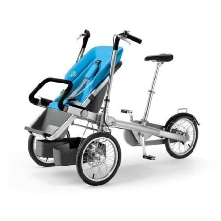 Taga bike stroller el cochecito de beb que se hace bici for Sillas para que coman los bebes