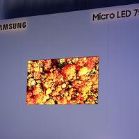 La tecnología MicroLED está más cerca de llegar al hogar: Samsung ha creado un modesto televisor de 75 pulgadas y resolución 4K
