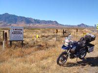 América en moto. La provincia de Sonora.