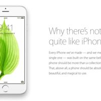"""Why there's nothing quite like iPhone"", Apple sigue presumiendo su iPhone"