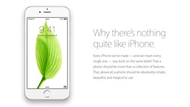 """""""Why there's nothing quite like iPhone"""", Apple sigue presumiendo su iPhone"""