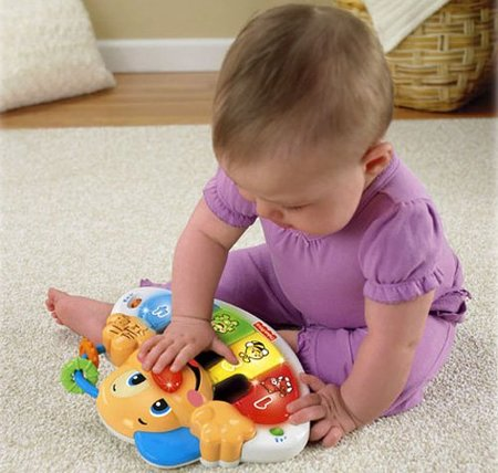 Piano Perrito Fisher Price