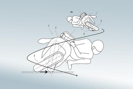 No es broma: Kawasaki ha patentado una moto eléctrica sin manillar y con ruedas pivotantes