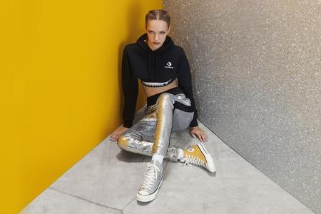 460fc6fa6 Converse x Chiara Ferragni  la colección de sneakers que te hará adorar el  glitter