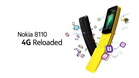 Nokia lo vuelve a hacer: el nuevo 8110 se reinventa para no quedarse en un simple feature phone