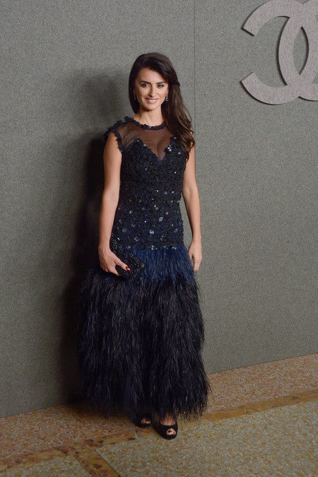 Penelope Cruz frontrow chanel