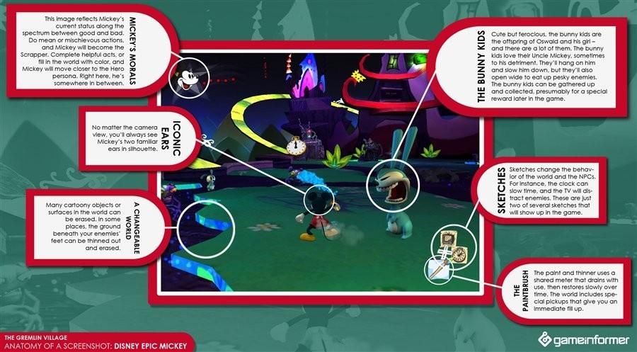 Foto de Nuevos detalles sobre cómo se juega a 'Epic Mickey' (4/4)