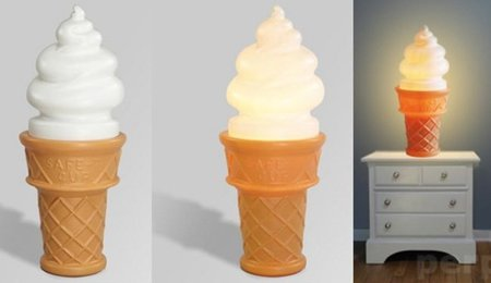 Ilumina tu mesilla con un helado de cucurucho