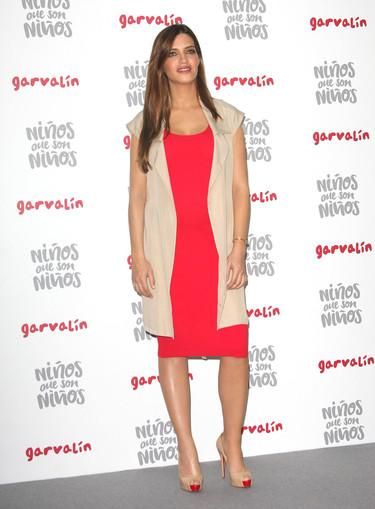 Sara Carbonero una embarazada a quien hay que mirar de perfil para comprobar que lo está