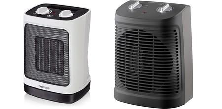 4 estufas de pequeño tamaño para calentarnos este otoño que están de oferta en Amazon