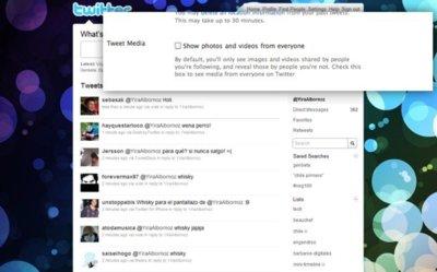 Twitter pronto podría mostrar fotos y vídeos directamente en el timeline