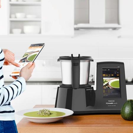 Robot de cocina Taurus MyCook Touch Black Edition con 400 euros de descuento hoy en Amazon