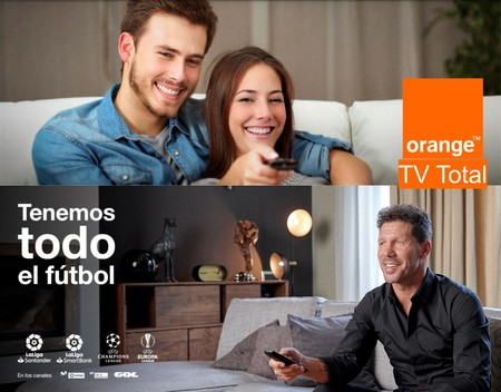 Orange TV Total, nueva oferta para interesados en todo el fútbol y la televisión familiar
