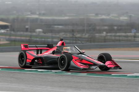 Alex Palou Austin Indycar 2020