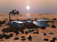 Basura terrestre en Marte